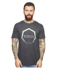 Vissla Sun Bar T Shirt Top Black Heather T Shirt