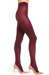 Nordstrom Plus Size Women's Opaque Control Top Tights Red Cordovan