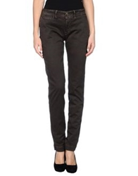 Jaggy Casual Pants Dark Blue