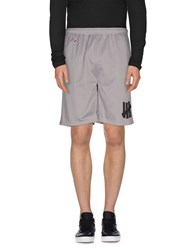 Undefeated Trousers Bermuda Shorts Men Grey