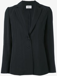 Cacharel Two Button Blazer Black