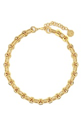Louise Et Cie 'Octagon Link' Collar Necklace Gold