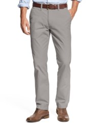 Tommy Hilfiger Men's Custom Fit Chino Pants Drizzle