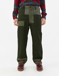 Engineered Garments Twill Fatigue Pant In Olive