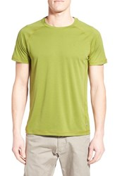 Fjall Raven Men's Fj Llr Ven 'Abisko' T Shirt Meadow Green