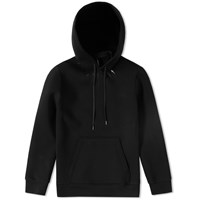 Neil Barrett Single Fair Isle Bolt Hoody Black