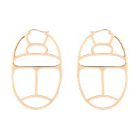 Ginette_Ny Large Wish Hoop Earrings