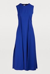Maison Rabih Kayrouz Sleeveless Long Dress Deep Blue