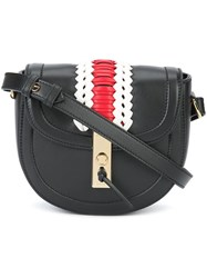 Altuzarra Mini 'Ghianda' Saddle Bag Black