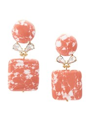 Lele Sadoughi Drop Earrings Pink