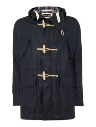 Gloverall Men's Duffle Parka French Navy