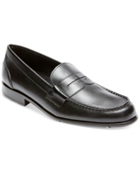 Rockport Classic Penny Loafers Men's Shoes Black