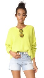 Free People Festival Pier Pullover Yellow
