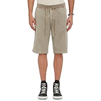 James Perse Men's Drawstring Waist Surplus Shorts Grey