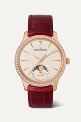 Jaeger Lecoultre Master Ultra Thin Moon Automatic 34Mm Rose Gold