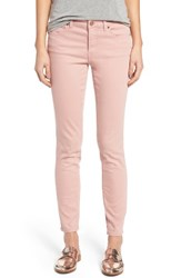 Caslonr Women's Caslon Stretch Ankle Skinny Pants Pink Smoke