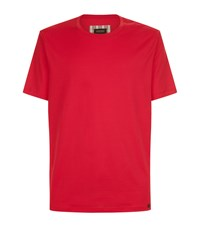 Hanro Cotton Jersey Lounge Top Red