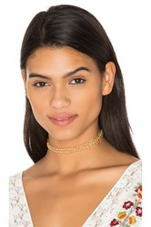 Joolz By Martha Calvo Infinity Choker Metallic Gold