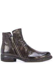 Officine Creative Legrand 114 Ankle Boots Grey