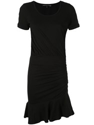 Veronica Beard Peplum Styled Dress Black
