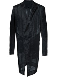 Julius Lightweight Blazer Jacket Black