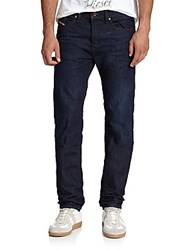 Diesel Buster Tapered Leg Jeans Dark Blue