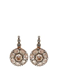 Selim Mouzannar Diamond And Pink Gold Beirut Earrings