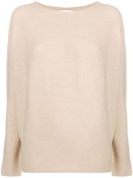 Christian Wijnants Kopa Jumper Nude And Neutrals
