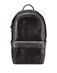 Timberland Tuckerman Leather Backpack Black
