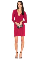 Bcbgeneration Knot Dress Red