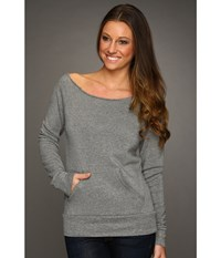 Alternative Apparel The Maniac Eco Fleece Sweatshirt Grey Women's Sweatshirt Gray