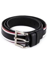 Balmain Layered Belt Black