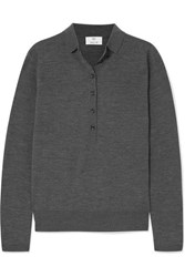 Allude Wool Sweater Gray