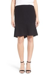 Women's Ella Moss Flouncy Rib Knit Skirt Black