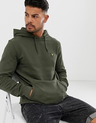 Lyle And Scott Pullover Hoodie Green
