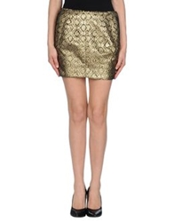Faith Connexion Mini Skirts Sand