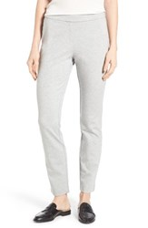 Nic Zoe Women's Ponte Pants Heather Grey