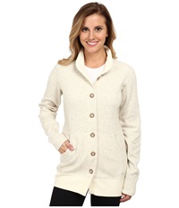 Mountain Hardwear Sarafin Button Front Sweater Snow Women's Sweatshirt Neutral