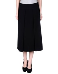 Darling 3 4 Length Skirts Black