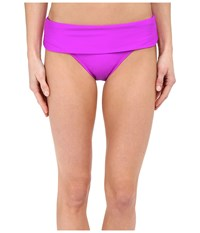 Next By Athena Good Karma Banded Retro Berry Women's Swimwear Burgundy