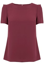 Oasis Formal T Shirt Berry
