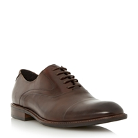 Bertie Radius Lace Up Formal Oxford Shoes Brown