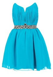 Little Mistress Cocktail Dress Party Dress Turquoise