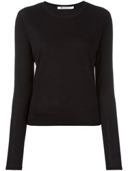 Alexander Wang T By Patch Pocket T Shirt Black