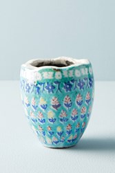Anthropologie Bismark Garden Mini Pot Green