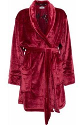 Dkny Chenille Robe Red