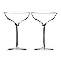 Waterford Champagne Belle Coupe Set Of 2