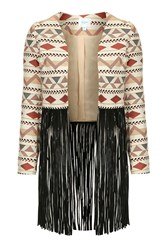 Tassel Jacket By Jovonna Multi
