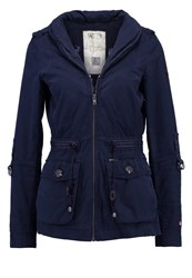 Khujo Cass Summer Jacket Deep Sea Dark Blue