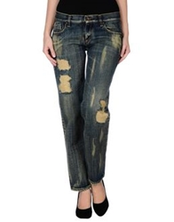 Novemb3r Denim Pants Blue